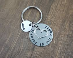 in memory of keychains loss of loved one etsy