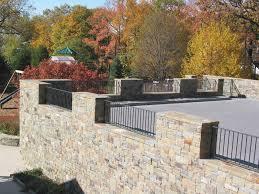 retaining wall landscape ideas beautiful que gabion terraced small