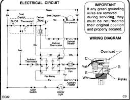 schematic wiring diagram of a refrigerator wiring diagram and