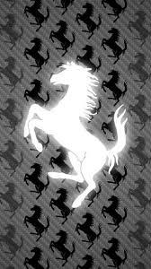 ferrari emblem black and white ferrari logo wallpapers for iphone 7 iphone 7 plus iphone 6 plus