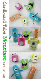 Halloween Paper Towel Roll Crafts Best 25 Cardboard Tube Crafts Ideas On Pinterest Construction