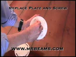 Mr Beams Ceiling Light by How To Install The Mr Beams Ceiling Light Youtube