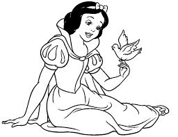 drawn amd snow white pencil color drawn amd snow white