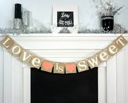 engagement banner soon to be banner engagement party decor