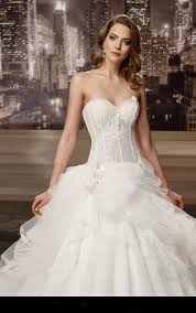 sweetheart ball gown wedding dresses 2016 lace corset ruffy pleat