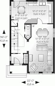 floor plans narrow lot homes plan kevrandoz