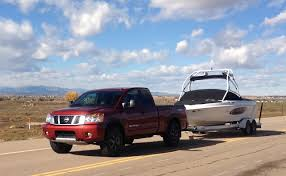 nissan titan 2015 light duty 0 60 mph matchup 2014 nissan titan solo and with
