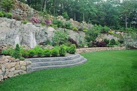 easy backyard landscaping ideas large easy backyard landscaping