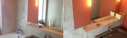 banc beton cire meubles béton ciré rouen banc table meuble tv béton ciré pas cher