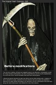 Halloween Reaper Costume Grim Reaper Costume 16 Pics
