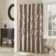 Croscill Opulence Shower Curtain Brown Shower Curtains You U0027ll Love Wayfair
