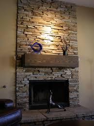 fireplace stone hearth binhminh decoration