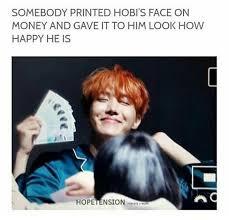 Money Boy Meme - bts jh wonhae money money money bts pinterest bts
