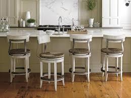 lexington oyster bay merrick swivel counter stool with rush seat