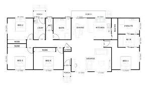 4 bedroom 4 bath house plans surprising simple 4 bedroom house plans gallery best inspiration
