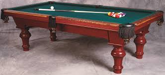 classic pool tables dining room pool tables