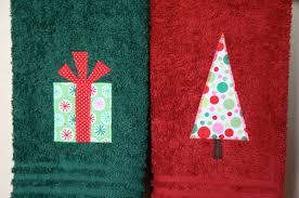christmas towels handmade christmas 2012 january project sew like my