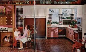 1960s Kitchen by Pink Kitchen Archives Retro Renovation