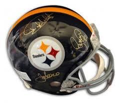 Steel Curtain Football Steel Curtain Signed Helmet Autographed Nfl Helmets
