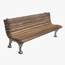 3d Bench Bench 3d Model