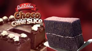 red ribbon choco cake slice youtube