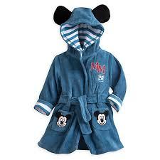 robe de chambre disney adulte peignoir pour bébé mickey