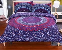 Duvet Covers Online Australia Beddingoutlet Mandala Bedding Set Concealed Bedspread Duvet Cover