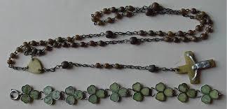 connemara marble rosary more horn rosary and connemara marble bracelet
