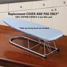 small table top ironing board household essentials 1209 replacement cover for tabletop ironing