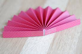 how to make a paper fan how to make a perfect paper pinwheel