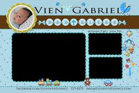 layout design for christening photo booth design layout template baby blue christening