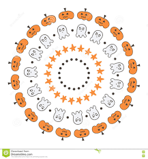 Halloween Border Clip Art by Set Of Cute Doodle Hand Drawn Halloween Borders Frames On White