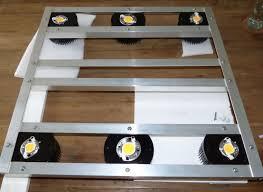 diy cree led grow light 300 watt diy cree cob led fixture grow room design opengrow