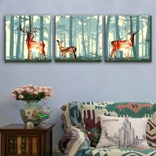 compare prices on deer oil paintings online shopping buy low