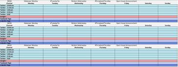 social media content calendar template rapidimg org google docs
