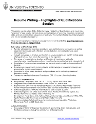 summary resume samples example skill highlights resume frizzigame skills summary resume sample free resume example and writing