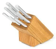 rada kitchen knives amazon com rada cutlery s43 colossal oak block set block knife