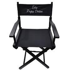 chaise metteur en sc ne b b joli cadeau idée cadeau naissance fauteuil de metteur en scène