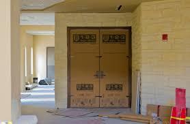 Temporary Door Solutions Interior 1 2 3 Door Shield Re Usable Door Protector U0026 Construction Protection