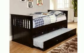 espresso trundle bed youtube