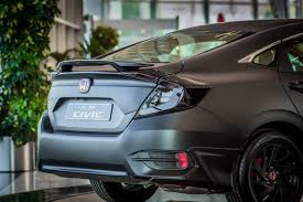 honda civic 2016 black stealth matt black honda civic for the uae rearview mirror
