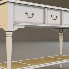 Ashley Sofa Table by 3d Model Laura Ashley Console Table 2 Cgtrader