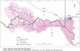 Jasper National Park Canada Map by Rock Lake