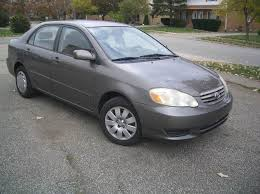 toyota corolla sedan 2003 2003 toyota corolla le 4dr sedan in euclid oh automotive