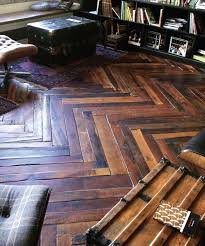 hardwood flooring made from shipping pallets apartment therapy