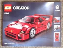 ferrari lego f40 partwork models forum u2022 view topic paul u0027s lego 10248 ferrari f40