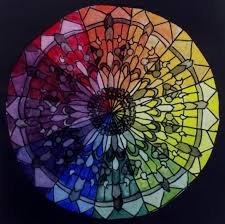 Color Wheel Mandala Lulusart