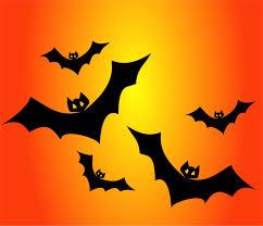 on orange free halloween vector clipart illustration