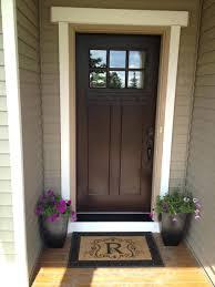 we paint front door chestnut add screen wooden exterior sheen