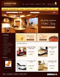 Bathroom Design Template Website Template 21149 Furniture Store Online Custom Website